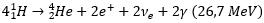 reaccion proton proton
